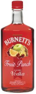 Burnett's Vodka Fruit Punch 750ml - Case of 12